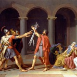 7. David, The Oath of the Horatii, 1784